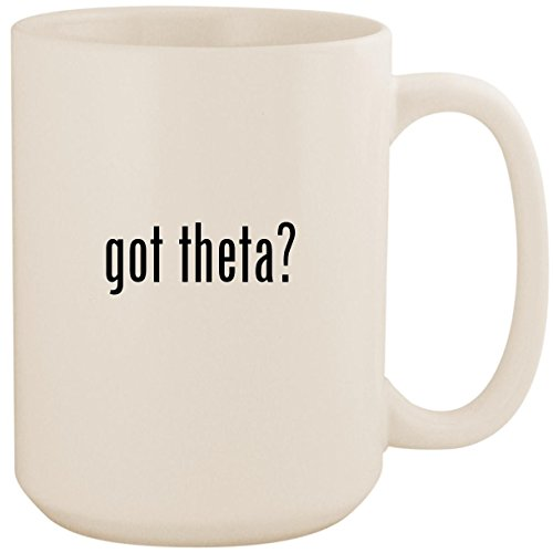 got theta? - White 15oz Ceramic Coffee Mug Cup