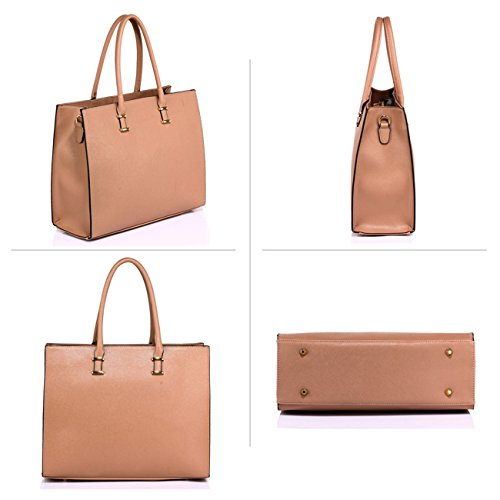 Nude Hotselling Women's Bags Quality Ladies Desinger Fashion Handbags Trendy Tote CWS00319 0TTHvw