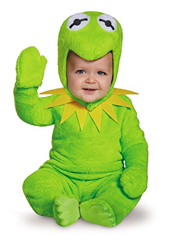 Disguise Baby Boys' Kermit Infant Costume, Green, 12-18 Months