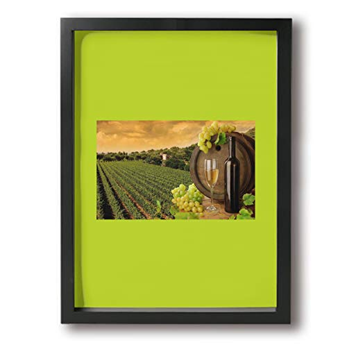 - SDJGNSSDF Wine Wallpaper Paintings On Canvas Prints Wall Art Decor Wood Framed Easy to Hang for Home 16x12Inch