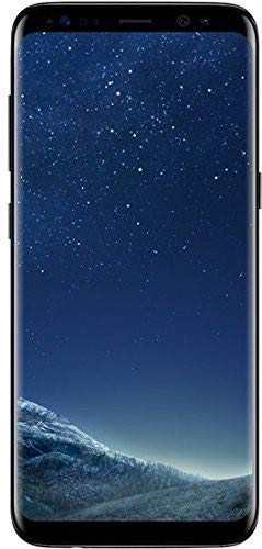 Samsung Galaxy S8 Plus 64GB - Verizon + GSM Factory Unlocked 4G LTE - Midnight Black (Renewed)