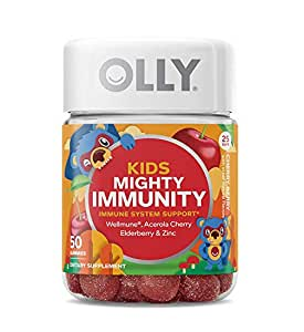 Amazon Com Olly Kids Mighty Immunity Gummy Supplement