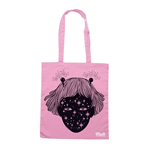 Borsa RAGAZZA DALLO SPAZIO - Rosa - MUSH by Mush Dress Your Style