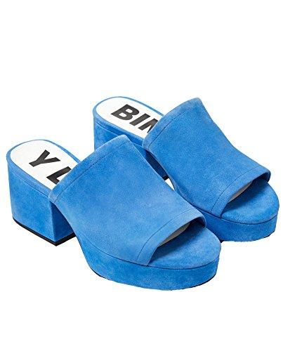 Da Sandalo Bimba Camoscio Donna In Blu 181bz1252 Mulo Y Lola CttxwEHn4q