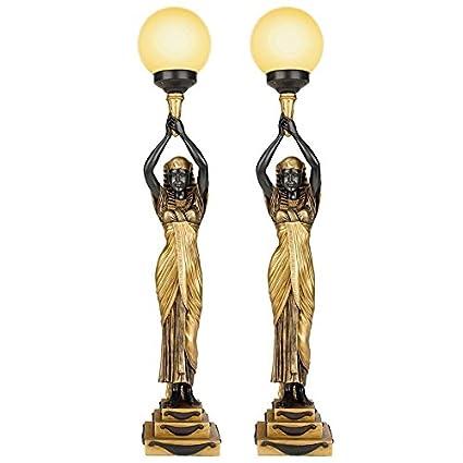 Amazon.com: Design Toscano egipcio diosa de la noche ...