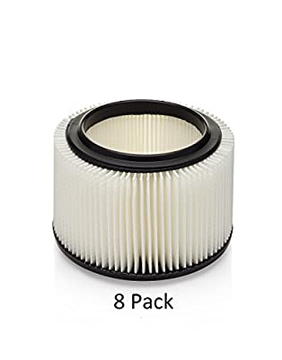 Craftsman 3 & 4 gal Replacement Filter 8 pack by Kopach