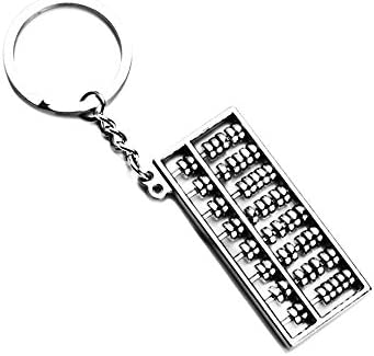 Kentop Llavero con Creativo ábaco Colgante Key Holder Size ...