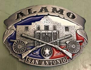 - The Alamo SAN Antonio Belt Buckle New Approx. 3 1/2
