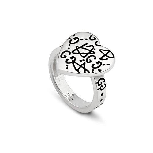 Gucci Silver Ring Ghost 6(USA) N(UK) YBC457229001013 by Gucci (Image #2)