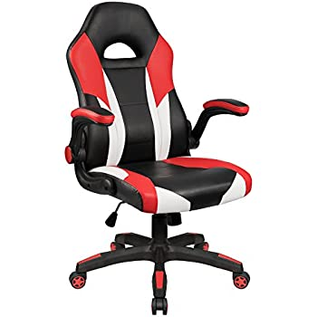 Amazon Com Furmax Office Chair Desk Leather Gaming Chair