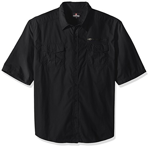 Southpole Short Sleeve Solid Pockets