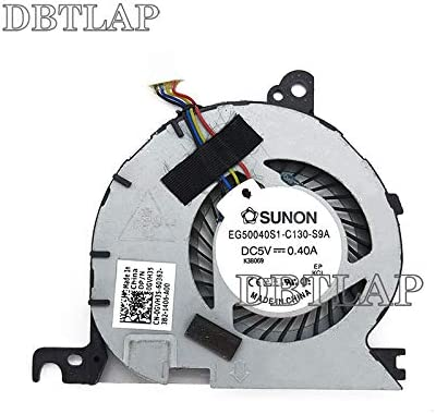 DBTLAP Port/átil CPU Ventilador para DELL Latitude E7240 EG50040S1-C130-S9A 0GVH35 DC28000D6SL GVH35 KSB0605HC-CL1N