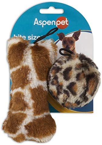 Doskocil Aspen Pet Products Bite Skin Soft Toy, Bal Bon
