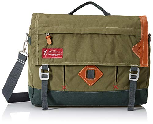 Browning Boone Messenger Bag | Duffel Green, 16x13x5 ()