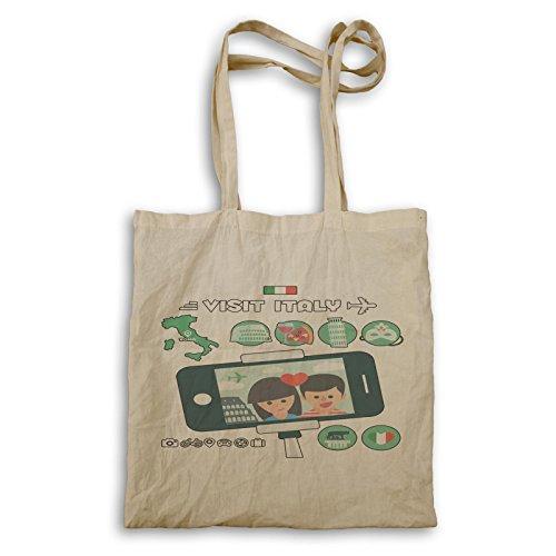 Visita Litalia Tourist Funny Novelty Carry Bag A671r