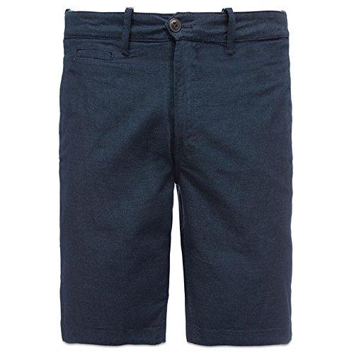 Timberland Mens Shorts - Timberland Men's Squam Lake Oxford Reversible Chino Shorts, Black, 38