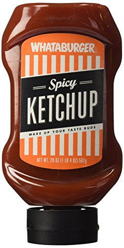 Whataburger Condiments  Pack Of 1   Spicy Ketchup 20Oz