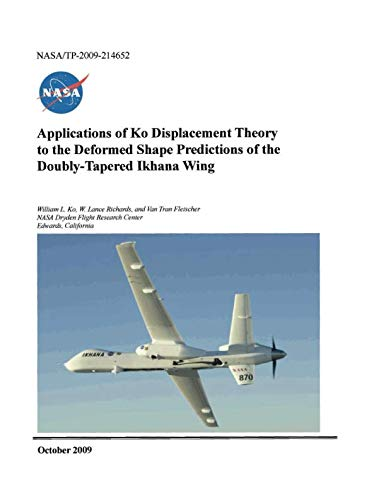 Applications of Ko Displacement Theory to the Deformed Shape Predictions of the Doubly-Tapered Ikhana Wing