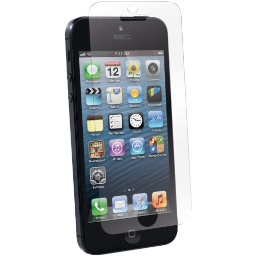 ScreenGuardz UltraTough Dry Apply Protective Film for iPhone 5 - 1 Pack - Screen Protector - Retail Packaging - Screen Only