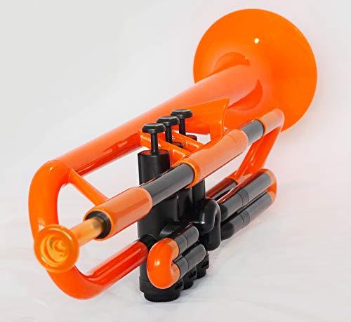 pBone PTRUMPET1O The Plastic Trumpet, Orange by pBone (Image #4)