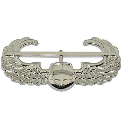 Air Assault Silver Metal Auto Emblem