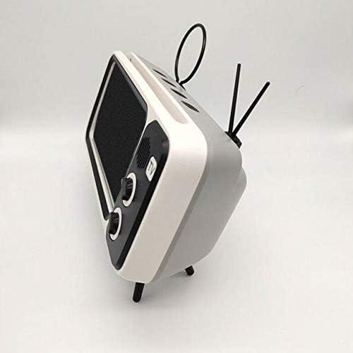 LKCXDD Soporte estéreo Teléfono con teléfono Altavoz con Bluetooth Reproductor de música para TV Retro Pocket Audio para el hogar Eléctrico Portátil Mini inalámbrico Gris: Amazon.es: Electrónica