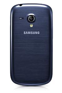 samsung galaxy s3 blue. genuine samsung galaxy s3 mini gt-i8190 pebble blue battery back cover