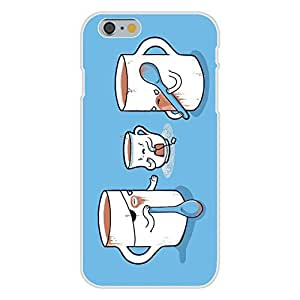 "DaojieTM Generic Iphone 6 Plus 5.5 Inch Custom Case White Plastic Snap on - ""Muggers"" Thug Mugs Stealing Teacup's Purse"