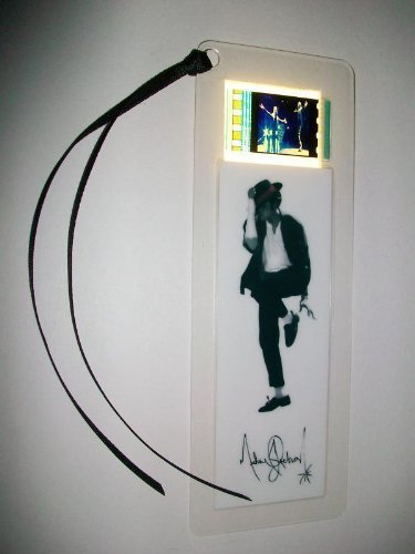 MICHAEL JACKSON king of pop movie film cell bookmark memorabilia collectible