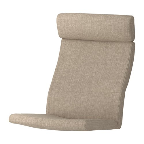 POÄNG Chair cushion, Hillared beige