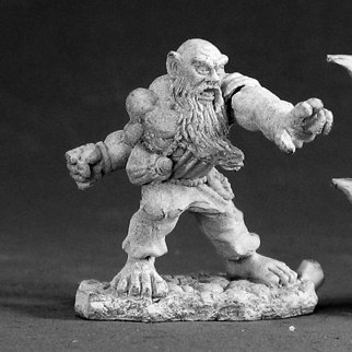 Reaper Miniatures Burl Oakfist, Dwarf Monk #03044 Dark Heaven Unpainted (Dark Monks)