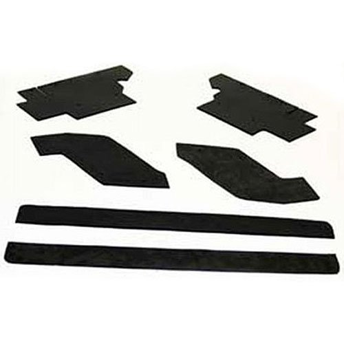 Performance Accessories, Jeep Wrangler YJ, Gap Guards for 3″ body lift, fits 1987 to 1996, PA6907, Made in America