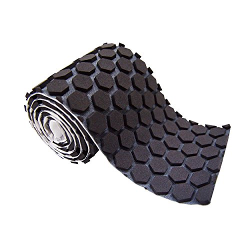 McDavid 6650 Hex Skin Protective Padded Performance Tape Roll, Black, One ()
