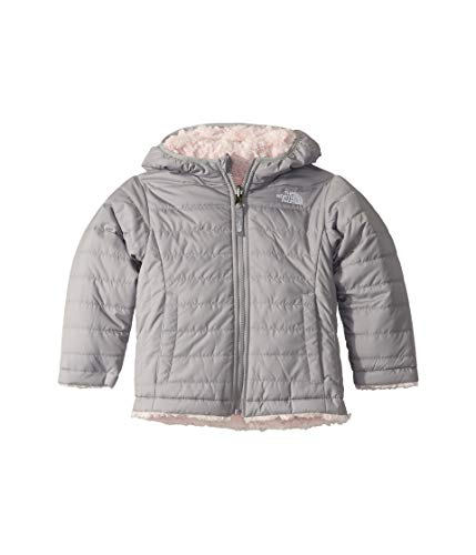 The North Face Toddler Girls' Reversible Mossbud Swirl Jacket, Meld Grey, 6T