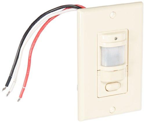 Rab Lighting Occupancy Sensor - RAB Lighting LOS800I/120 Occupancy Sensor with Decorator Wall Plates, 800W Power, 120V, Ivory
