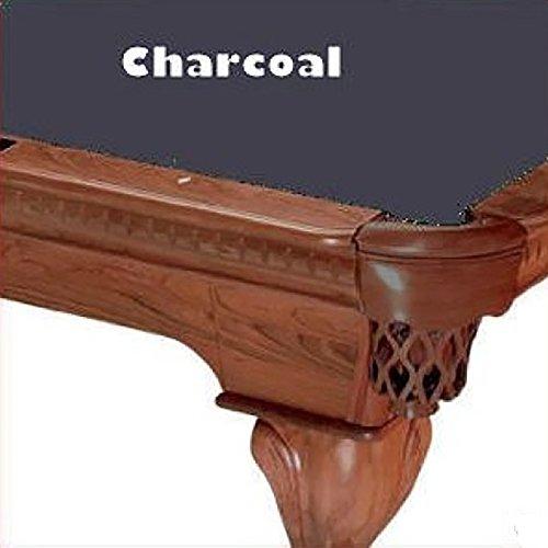 8' Oversize Charcoal ProLine Classic 303 Teflon Billiard Pool Table Cloth Felt Charcoal Pool Table Felt
