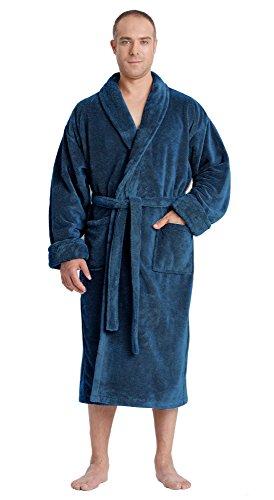 Arus Satin Fleece Bathrobe Turkish product image