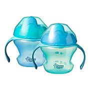 Tommee Tippee First Sips Transition Cup, 5 Ounce, 2 Count (Colors will vary)