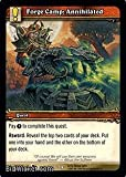 Forge Camp: Annihilated (World of Warcraft - March of the Legion - Forge Camp: Annihilated #302 Mint English)
