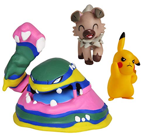 Wicked Cool Toys Pokémon Battle Figure Set 3-Pack, 2