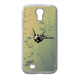 Fighter Jets Flying Above Clouds Watercolor style Cover Samsung Galaxy S4 I9500 Case
