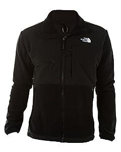 The North Face Men's Full Zip Denali Jacket, Black, XX-Large