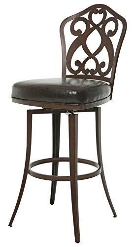 - Impacterra Pastel Furniture Orbit Swivel Barstool, 30