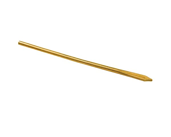Tandy Leather Long Jumbo Perma-Lok Needle 1193-05 (Color: Brass Color (Not Actually Brass), Tamaño: Single)