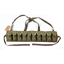 ORIGINAL SURPLUS CHINESE MILITARY SKS 56 AK CHEST RIG BANDOLIER AMMO POUCH
