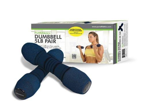 Trimax Sports PurAthletics Dumbbell Set, 5-Pound Review