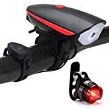 Dixinla Bike Front Bicycle Back Light USB Charger Front Light Mountain car Horn Front Light Warning Light Equipment Accessories