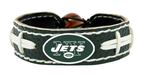 New York Jets Team Color NFL Football Bracelet