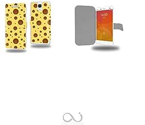 Fromage Collection Pattern Funda de Cuero para Xiaomi Mi4 Flip Case Cover (Estuche) PU Cuero - Accesorios Case Industry Protector