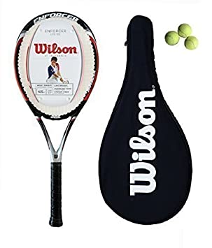 WILSON Ejecutor Lite Carbono Raqueta De Tenis L2 + Funda + 3 Pelotas Tenis: Amazon.es: Deportes y aire libre